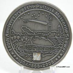 Meteorite coins