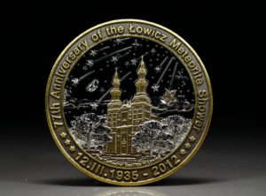 ŁOWICZ 77th anniversary coin
