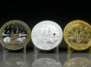 ŁOWICZ 77th anniversary coin SET #07